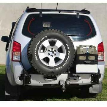 Traverse + Porte-roure G  Kaymar para Nissan Paathfinder R51
