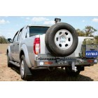 Parachoques trasero Kaymar para Nissan Navara D40