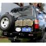 Soporte de rueda izquierda/derecha en parachoques Kaymar para Toyota HDJ / HZJ /  FZJ 80