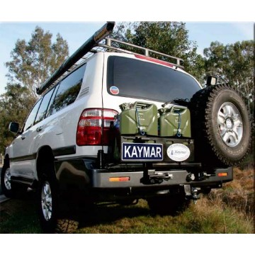 Soporte de rueda derecha Kaymar parachoques para Toyota  HZJ105
