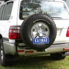 Soporte de rueda izquierda Kaymar para  Toyota HDJ / UZJ 100