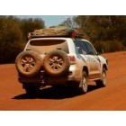 Parachoques trasero Kaymar para Toyota VDJ 200