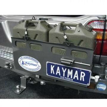 Soporte jerrican doble izquierda Kaymar para Toyota  VDJ 200