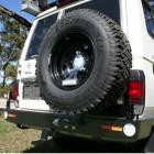 Parachoques trasero Kaymar para Toyota VDJ / HZJ 76 sin aletines / HZJ 78