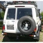 Soporte de rueda derecha Kaymar para  Toyota   VDJ / HZJ 76 sin aletines / HZJ 78
