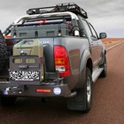 Soporte Jerrican simple derecha Kaymar para  Toyota  Hilux / Vigo