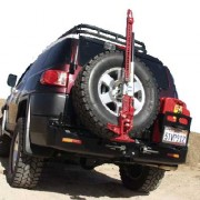 Parachoques trasero con sensor Kaymar para Toyota FJ Cruiser