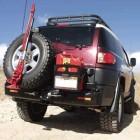 Soporte de rueda izquierda Kaymar para  Toyota FJ Cruiser