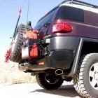 Soporte Jerrican izquierda Kaymar para  Toyota  FJ Cruiser