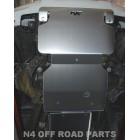Protección delantera Duraluminio 8mm de para Isuzu D-Max RT50 desde 2012
