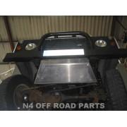 Protección delantera Duraluminio 8mm  de N4 para Land Rover Defender
