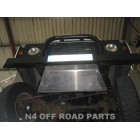 Protección delantera Duraluminio N4-OFFROAD 8mm para Land Rover Defender
