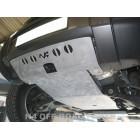 Protección delantera Duraluminio 8mm de N4 para Land Rover Discovery III