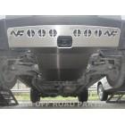 Protección delantera Offroad Duraluminio 8mm de N4 para Land Rover Discovery IV