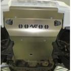 Protección delantera Duraluminio 8mm de N4 para Mitsubishi Montero V60 del 00 al 07