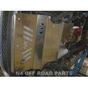 Protección delantera Duraluminio 8mm  de N4 para Mitsubishi L200 triton