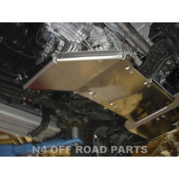 Protector cambio y transfer Duraluminio 8mm de N4 para Mitsubishi L200 Triton de 05 a 15