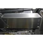 Protector transfer Duraluminio 8mm de N4 para Toyota Land Cruiser Serie12  KDJ 120 / 125