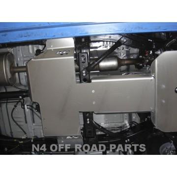 Protector cambio y transfer Duraluminio 8mm de N4 para Toyota KDJ 150 / 155